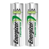 Pilas Recargables Energizer Aa 2000 X 2 Unidades