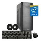 Kit Pc Armada Iqual Intel Core I3 9na Gen 8gb 1tb + F 500w