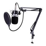 Microfono De Condensador Profesional Kit Studio  /soy Tienda