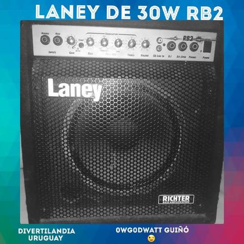 Oportunidad!! Amplificador De Bajo Laney Rb2 30w