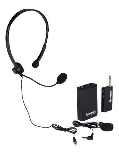 Mic-290 Micrófono Inalámbrico De Solapa O Diadema |