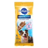 Petisco Para Cães Adultos Raças Médias Pedigree Dentastix Pacote 180g 7 Unidades