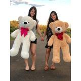Urso De Pelúcia Gigante Teddy - Grande - Laço Personalizado
