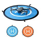 Landing Pad Helipuerto, Pista De Aterrizaje 75 Cm Para Drone