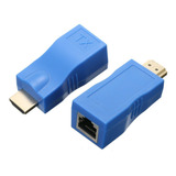 Extensor Hdmi To Rj45 30m Network  Hdmi Repeater 1080p