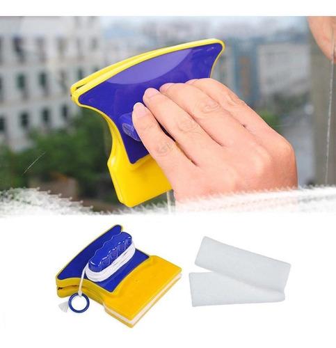 Limpia Vidrios Magnetico Clean Doble Cara Para Alturas