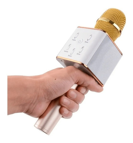 Micrófono Karaoke Bluetooth Inalámbrico Parlante Usb Tubelux