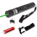Puntero Laser Verde Potente+ Pila Recargable Foco Ajustable