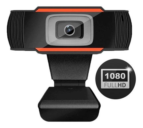 Webcam Cámara Web Full Hd 1080p Streaming Zoom Con Micrófono