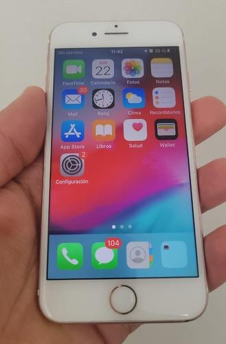 Celular iPhone 7 Rose 32 Gb  Usado 9 De 10
