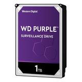 Disco Duro Interno Western Digital Wd Purple Wd10purz 1tb Púrpura