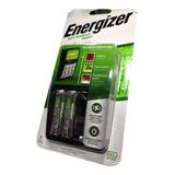 Cargador Energizer Maxi Aa Aaa + 2 X Pilas Recargables Aa