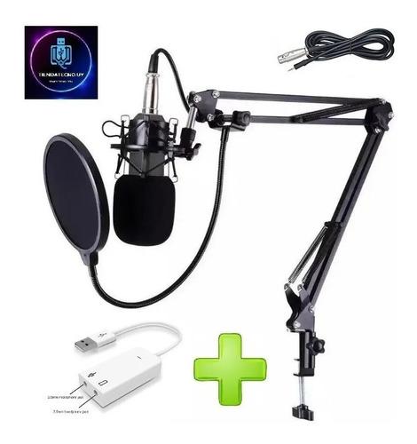 Microfono Con Brazo Estudio Condensador Live Broadcast