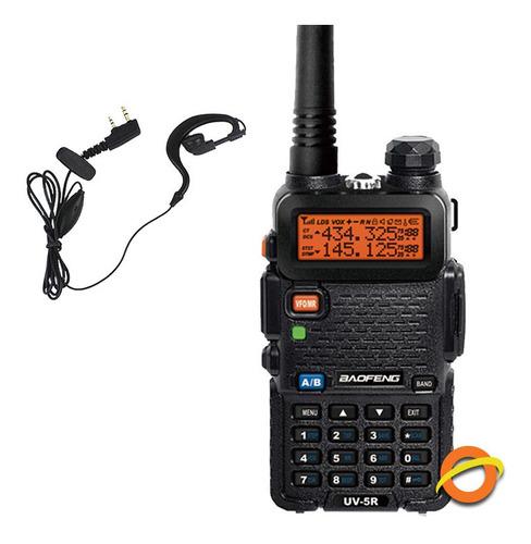 Handy Baofeng Radio Manos Libres Recargable Walkie Talkie