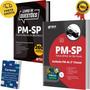 Kit Apostila Pm Sp + Livro Questões Polícia Militar Soldado Original