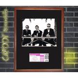 Depeche Mode Foto Y Entrada Concierto Año 1993
