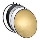 Pantalla Reflector Circular 5en1 107cm Fotografia +estuche