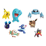 Pokémon Pack De Batalla Set De 8 Muñecos Original