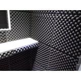 Espuma Acústica Kit C/ 8 Placas - 50cm X 50cm X 2cm - C.o