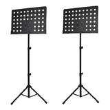 2 Atril De Partituras Tipo Orquesta Marca Hebikuo, Aluminio