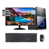 Equipo Torre Intel Core I5 Disco 1000gb Ram 8gb Monitor 22