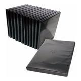 Cajas Dvd 14 Mm X100