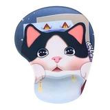 Mouse Pad 3d Anime Gato Oso  Infantil Niños