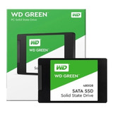 Disco Ssd Western Digital Green 480 Gb 2.5 Int Sata 3d