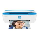 Impressora A Cor Hp Deskjet Ink Advantage 3776 Com Wifi Branca E Azul 100v/240v