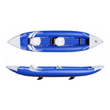 Kayak Inflable Set Azul