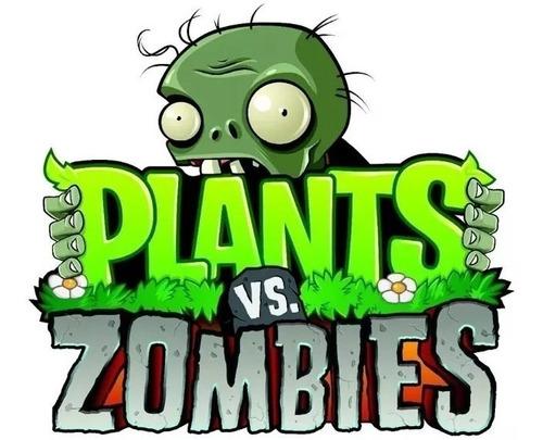 Kit Imprimible Candy Bar Plantas Vs Zombies Fiesta 3x1