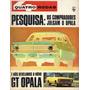 Quatro Rodas Nº106 Chevrolet Opala Ford Ltd Puma Gt 4r Original