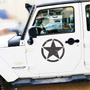 Calcomania Estrellas Jeep Ct Tj Yj Renegade Wrangler Emblema Jeep Wrangler