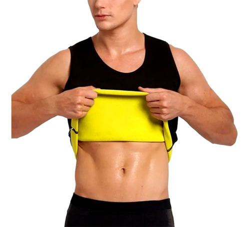 Faja Reductora Para Hombre Musculosa Térmica Modeladora
