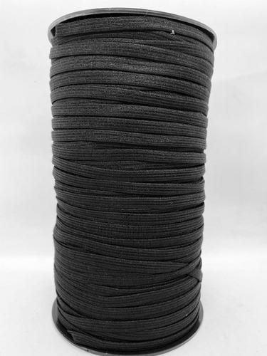 Elastico Para Barbijo 7mm Negro/elastico Para Embutir/250mts