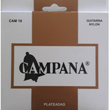 Cuerdas Guitarra Criolla Campana Encordado Nylon Plata
