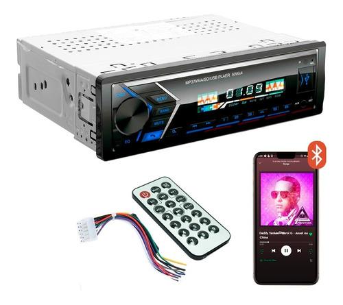 Autostereo Bluetooth Mp3 Usb X Desmontable Fm Audio Car 1