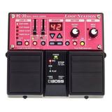 Pedal Analogo Boss Rc30 Guitarra Rc-30 Loop Station