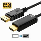 Displayport A Cable Convertidor Hdmi-ultra Hd