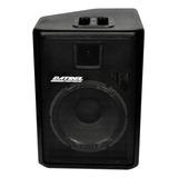 Caixa De Som Datrel At12-250 Portátil Com Bluetooth Preta 127v/220v