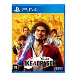Yakuza: Like A Dragon Day Ichi Edition Sega Ps4 Físico