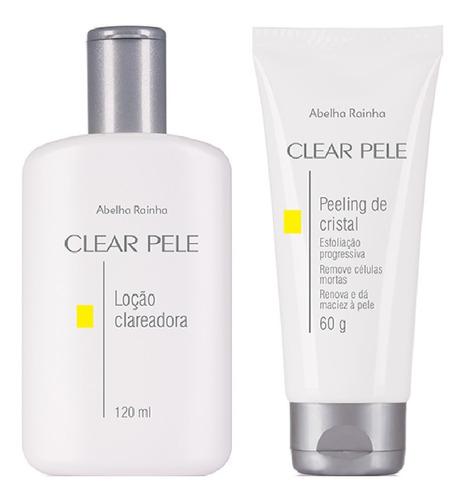 Loção Clareadora Facial + Peeling Clear Pele Abelha Rainha
