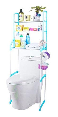 Mueble Organizador Ahorra Espacio 3 Repisas Baño Mt-001