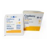 Gasa No Tejida Estéril 10x10 Cms Cranberry 50 Sobres.