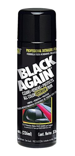 Restaurador De Plasticos Molduras Negras Renovador Facias