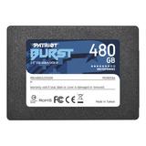 Disco Sólido Interno Patriot Burst Pbu480gs25ssdr 480gb