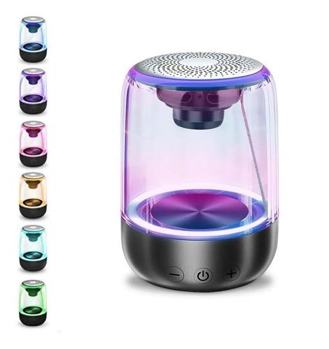 Bocina Bluetooth Portátil Micrófono Reproductor De Audio