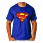 Camiseta Camisa Superman Black Super Homem Series Herois Original