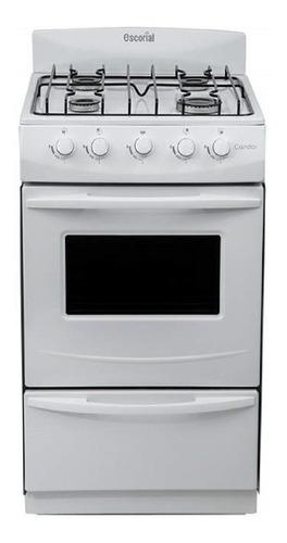 Cocina  Escorial  Candor S2 Gas Natural Blanca Oferta