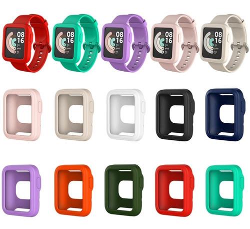 Protector De Pantalla De Slicona Para Xiaomi Mi Watch Lite
